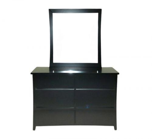 evergreen dresser with mirror