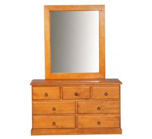 maven dresser with mirror