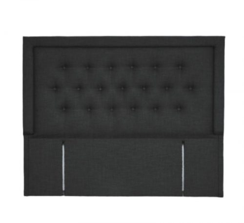 Fabric Upholstered Full Button Lined Headboard